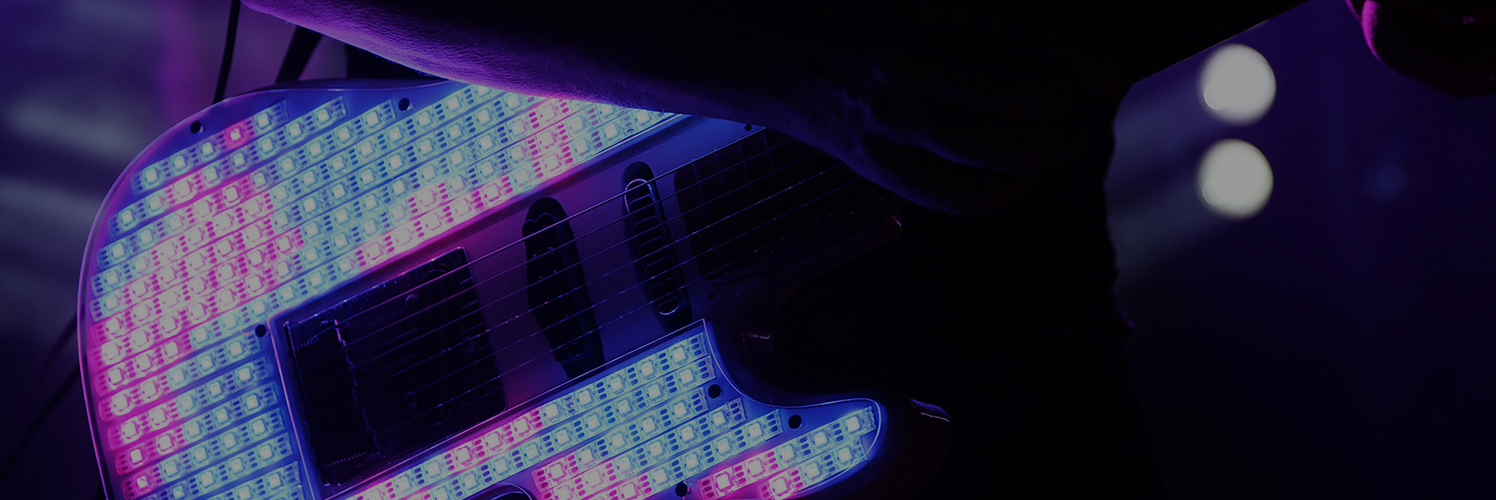 Immerge Interactive led guitar